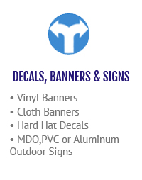 Decals, Banners & Signs