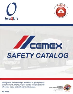 CEMEX Safety Brochure